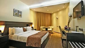 1 bedroom, premium bedding, in-room safe, individually decorated