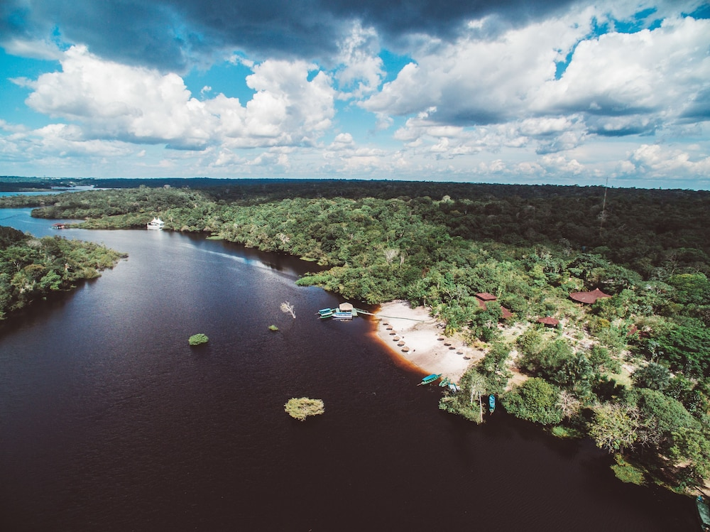 Aerial View, Amazon Ecopark Jungle Lodge