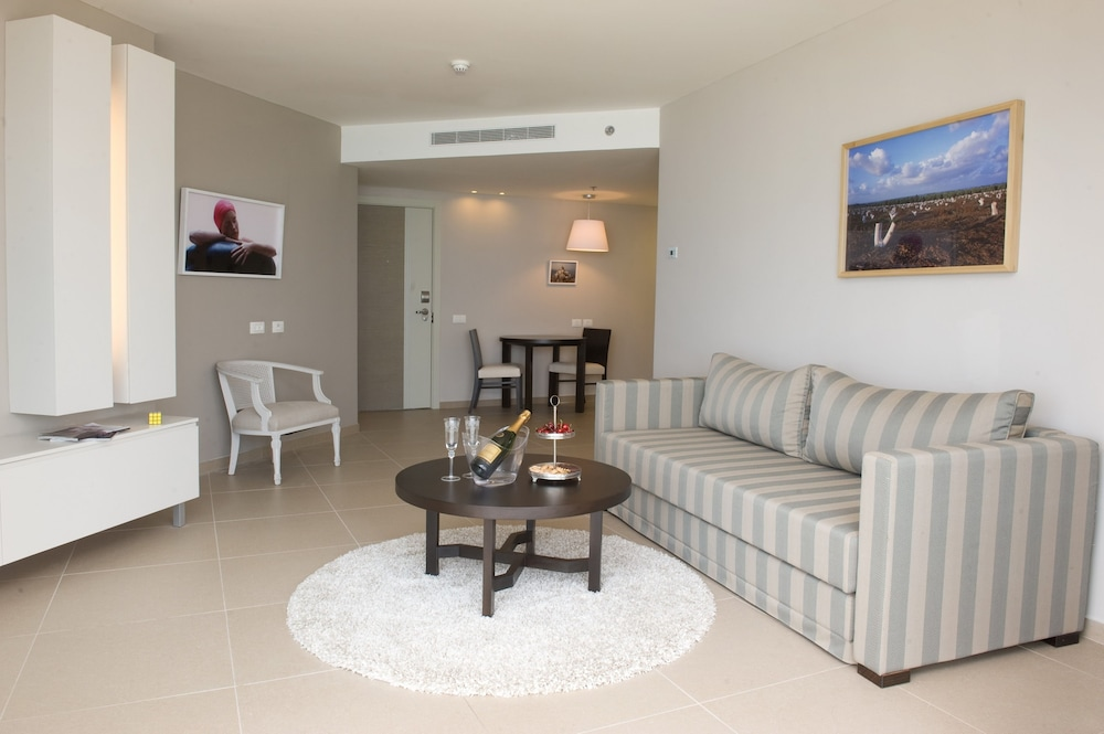 Living Area, Ramada Hotel & Suites by Wyndham Netanya