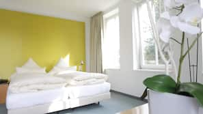 1 Schlafzimmer, Pillowtop-Betten, Zimmersafe, individuell eingerichtet