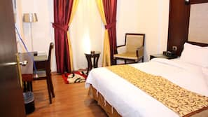 In-room safe, individually furnished, free WiFi, bed sheets