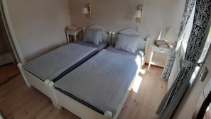 Blackout drapes, free cribs/infant beds, free WiFi, linens