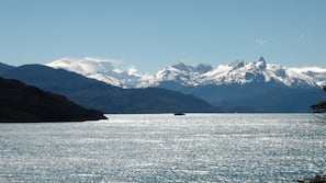 Private beach, fishing