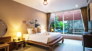 Ropa de cama de alta calidad y minibar con artículos gratuitos