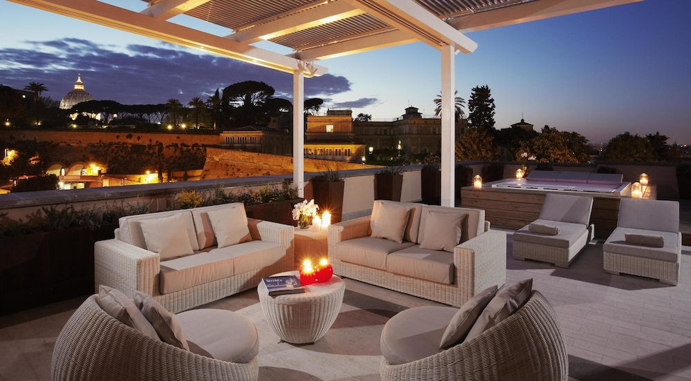 View from Room, Villa Agrippina Gran Meliá - The Leading Hotels of the World