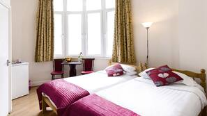 Pillow-top beds, in-room safe, iron/ironing board, free WiFi