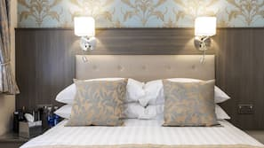 Premium bedding, pillow-top beds, in-room safe, individually decorated
