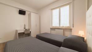 Pillowtop-Betten, Schreibtisch, kostenloses WLAN