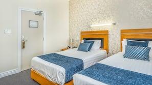 In-room safe, iron/ironing board, free WiFi, alarm clocks