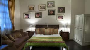 Caja fuerte, decoración individual, escritorio y wifi gratis