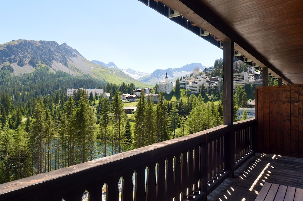 View from Property, Hotel Seehof Arosa
