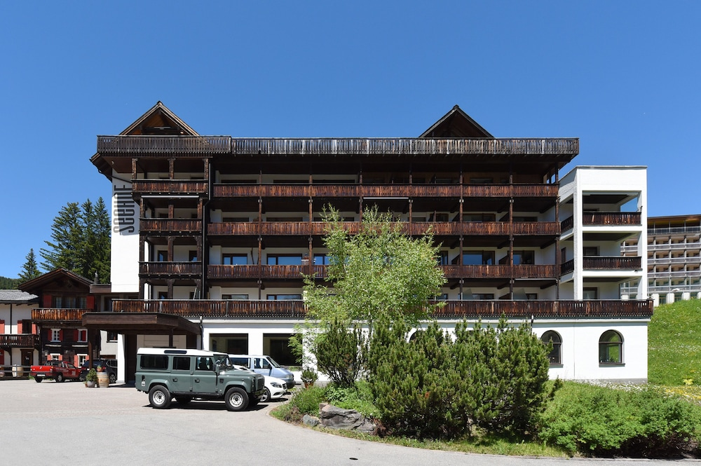 Front of Property, Hotel Seehof Arosa