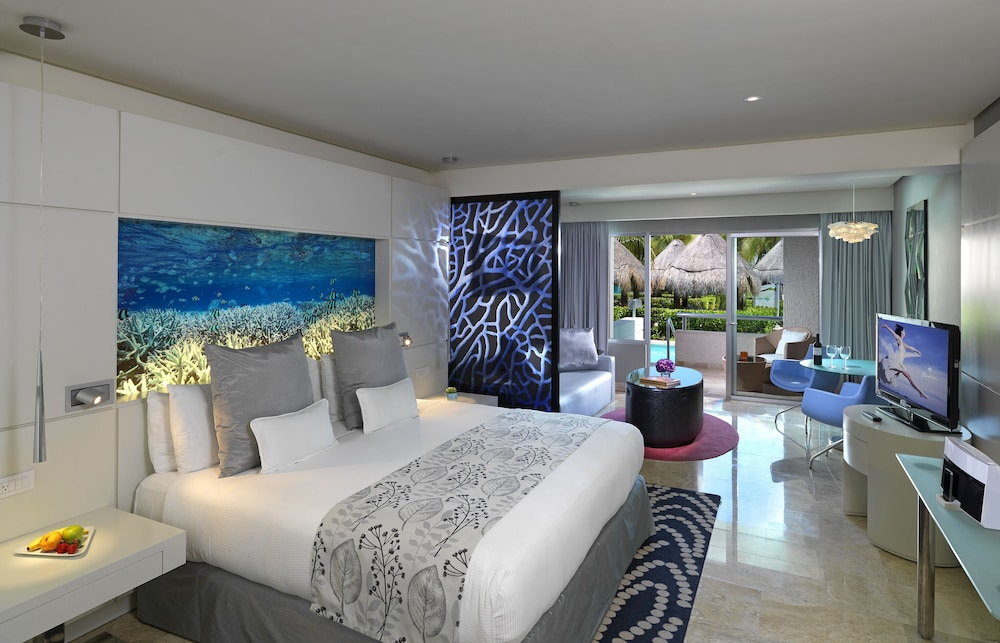 Living Area, Paradisus Playa del Carmen All Inclusive