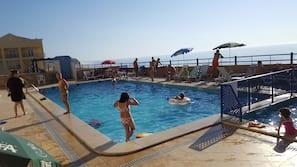 Outdoor pool, free cabanas