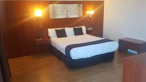 Minibar, desk, free cots/infant beds, free WiFi