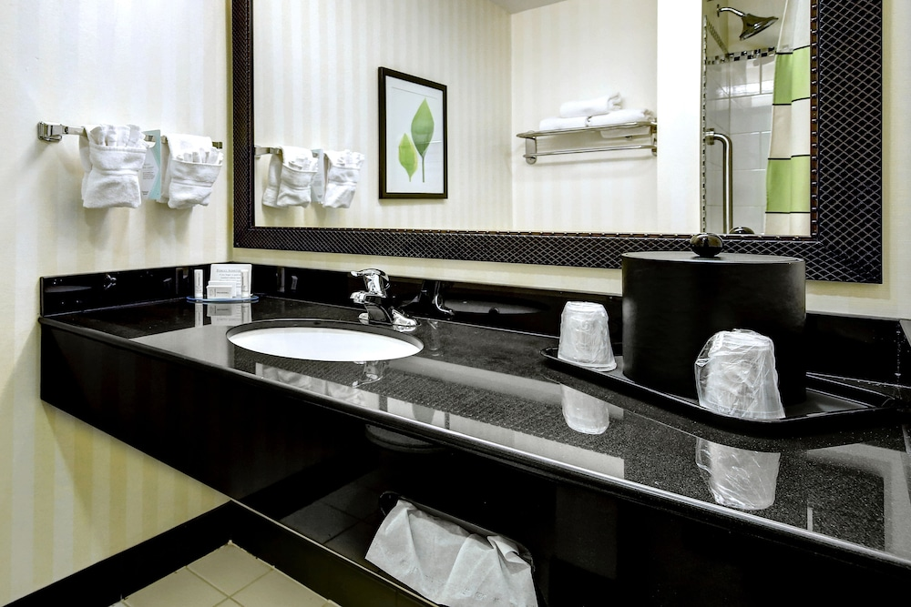 Bathroom Sink, Fairfield Inn & Suites by Marriott Harrisburg West