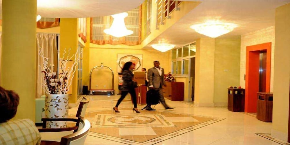Lobby, Destiny Addis Hotel