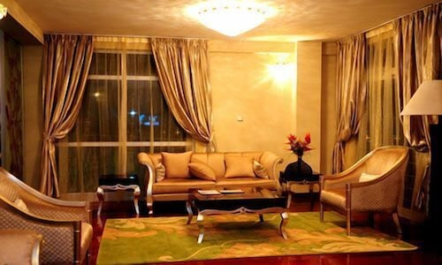 Living Area, Destiny Addis Hotel