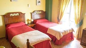 Caja fuerte, camas supletorias, wifi gratis y ropa de cama