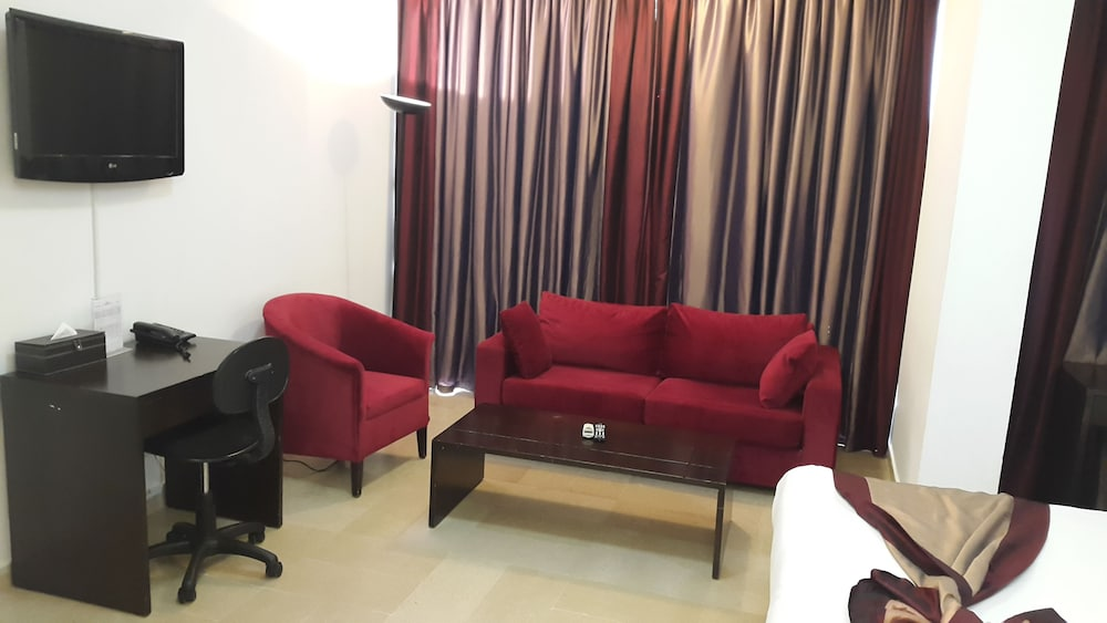 Living Area, Bliss 3000 Furnished Studios
