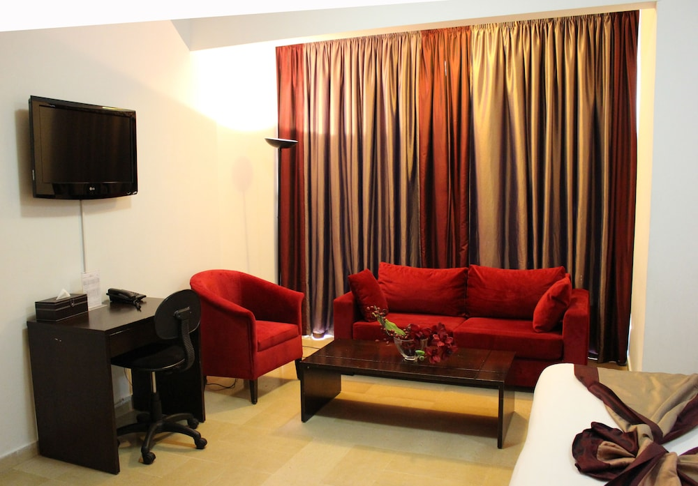 Room, Bliss 3000 Furnished Studios