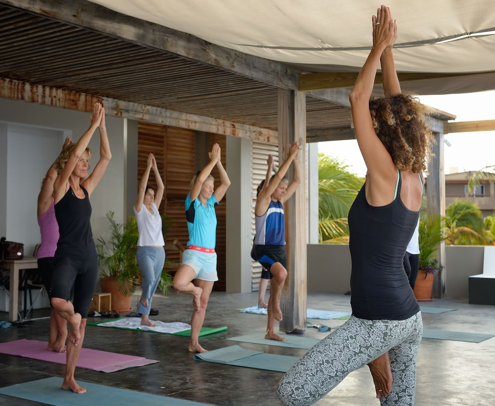 Yoga, Eden Beach Resort