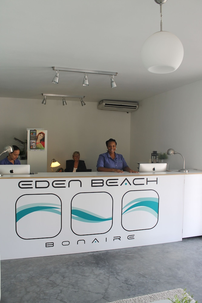 Reception, Eden Beach Resort