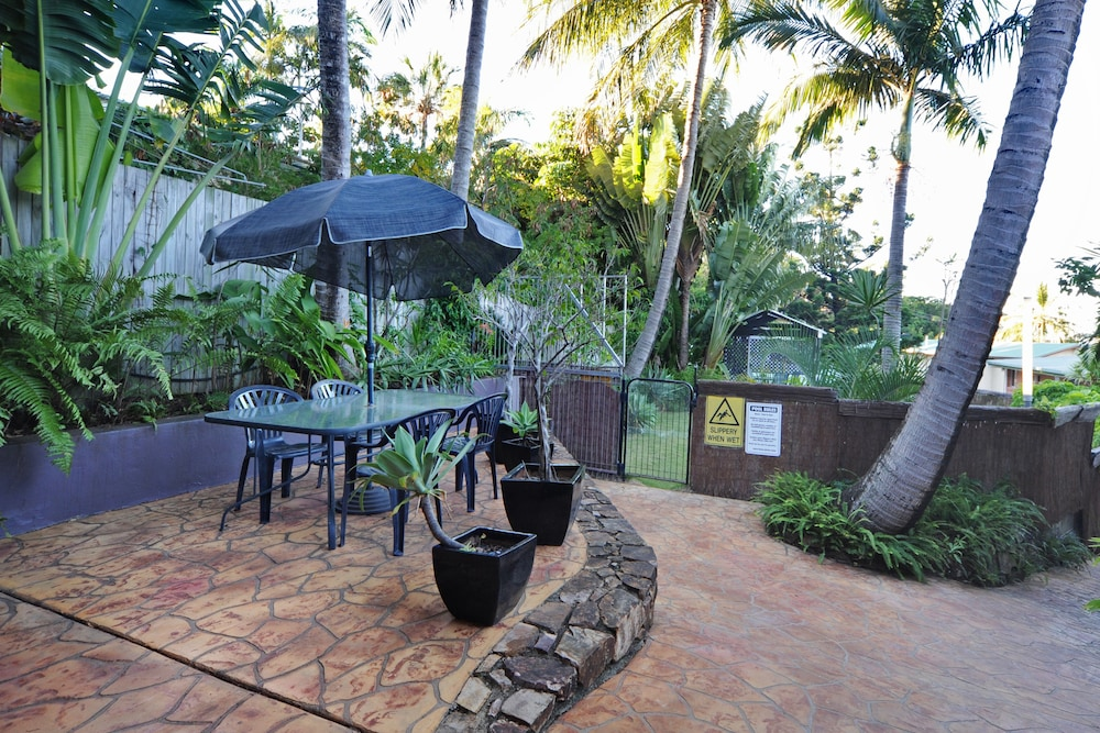 Terrace/Patio, Airlie Beach Motor Lodge