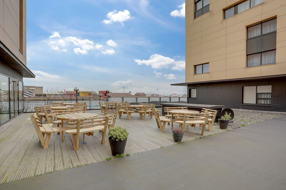 Terrace/Patio, All Suites Appart Hotel Dunkerque