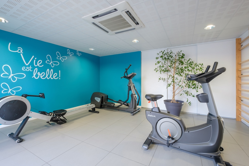 Gym, All Suites Appart Hotel Dunkerque