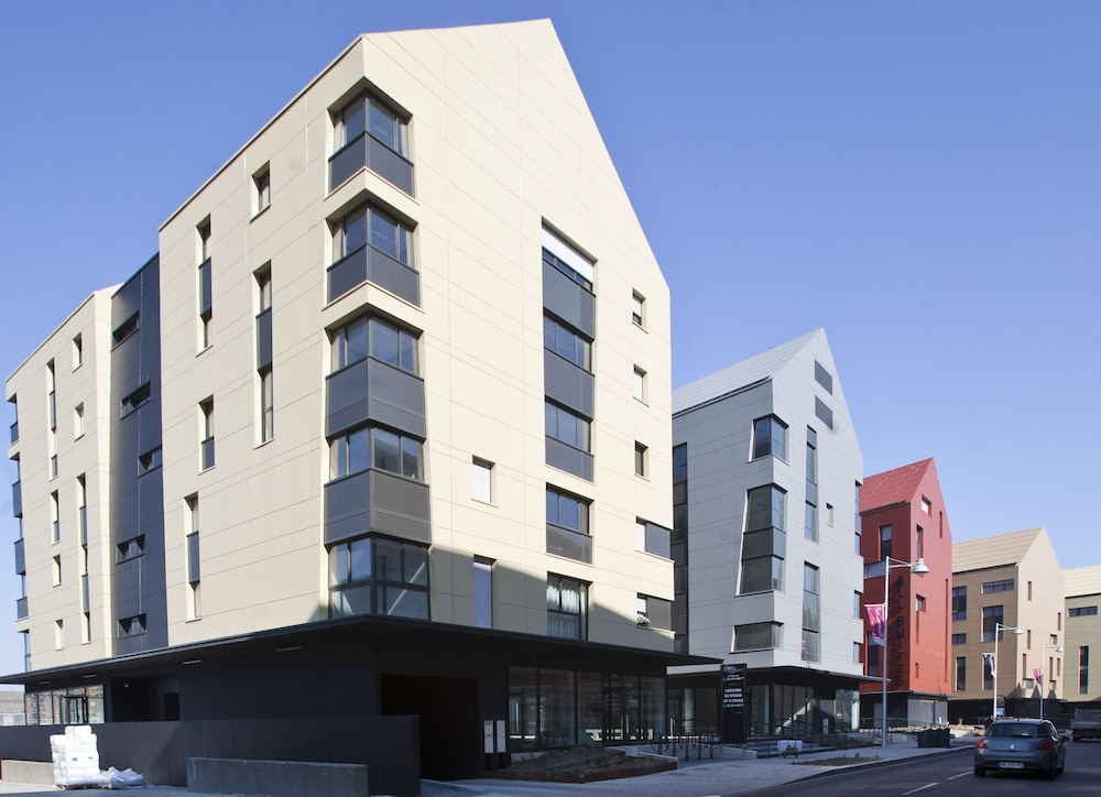 Front of Property, All Suites Appart Hotel Dunkerque