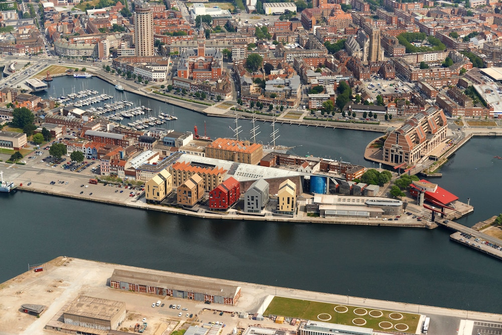 Aerial View, All Suites Appart Hotel Dunkerque