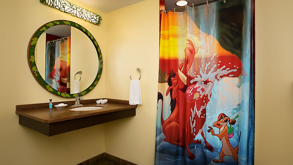 Bathroom, Disney's Art of Animation Resort