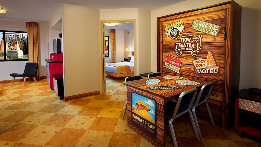Living Area, Disney's Art of Animation Resort