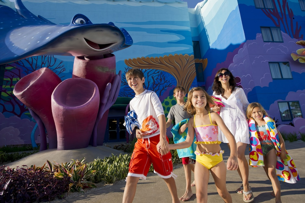 Exterior, Disney's Art of Animation Resort