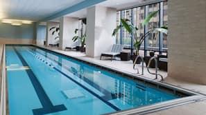 Indoor pool, seasonal outdoor pool, free cabanas, sun loungers