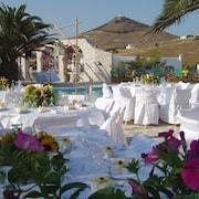 Espace banquet en plein air