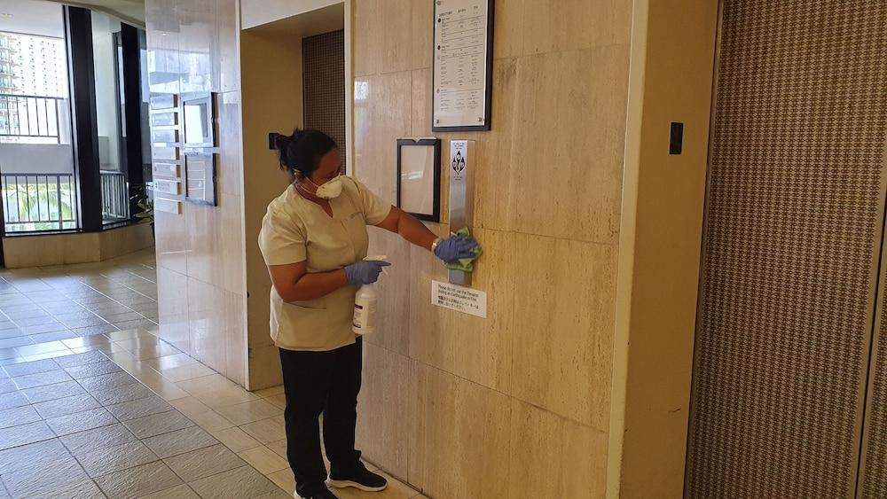 Cleanliness standards, Guam Reef Hotel