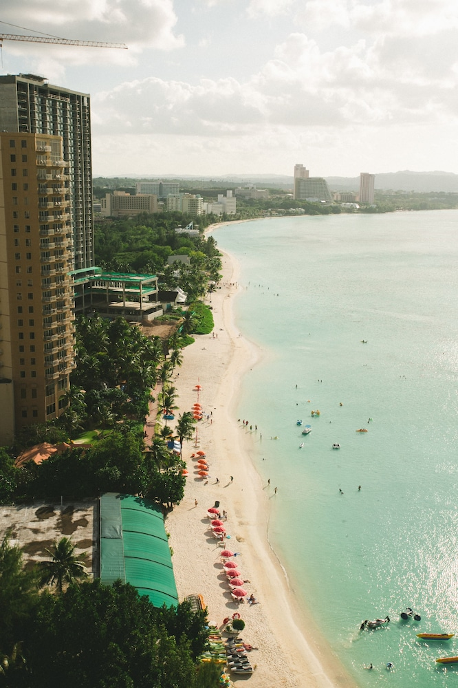 View from Property, Guam Reef Hotel