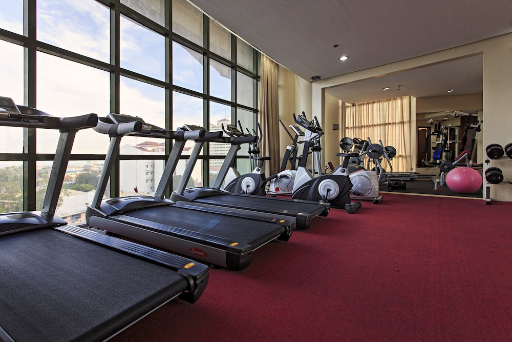 Gym, Sarrosa International Hotel and Residential Suites