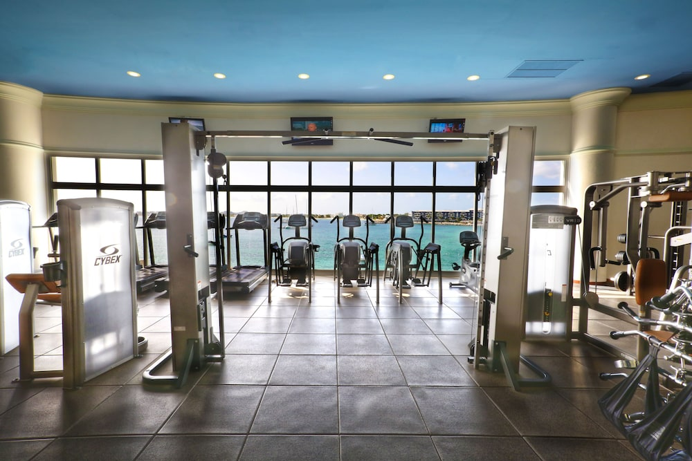 Gym, The Villas at Simpson Bay Beach Resort and Marina