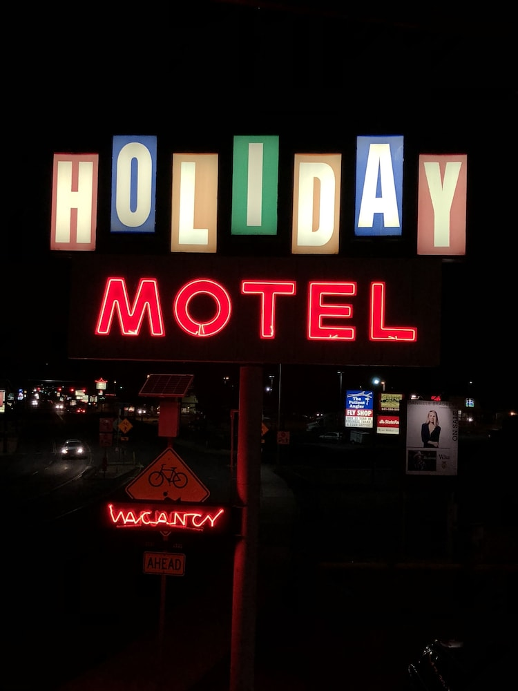 Aerial View, Holiday Motel