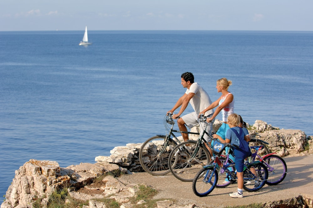 Bicycling, Hotel Lone Rovinj