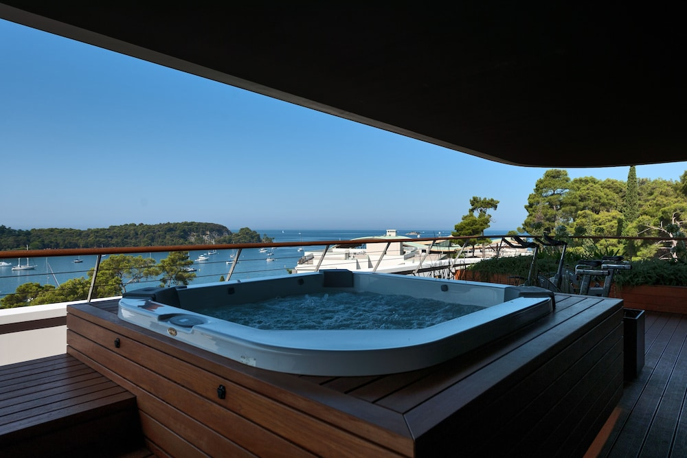 Private Spa Tub, Hotel Lone Rovinj