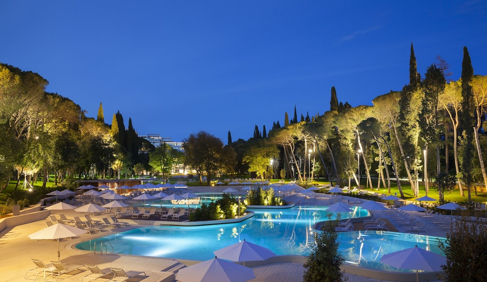 Outdoor Pool, Hotel Lone Rovinj