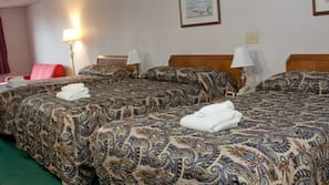 Pillowtop beds, in-room safe, individually decorated