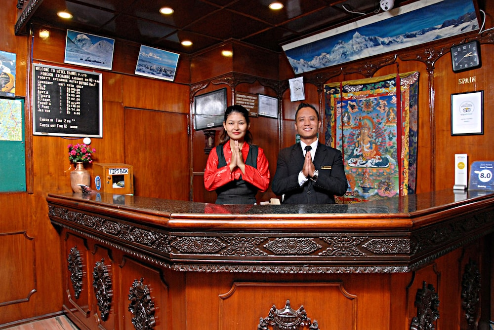 Reception, Hotel Thamel