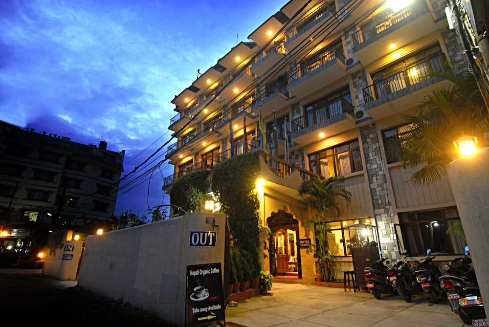 Front of Property - Evening/Night, Hotel Thamel