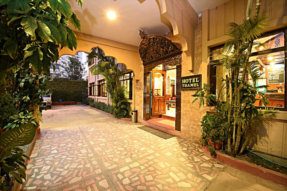 Property Entrance, Hotel Thamel