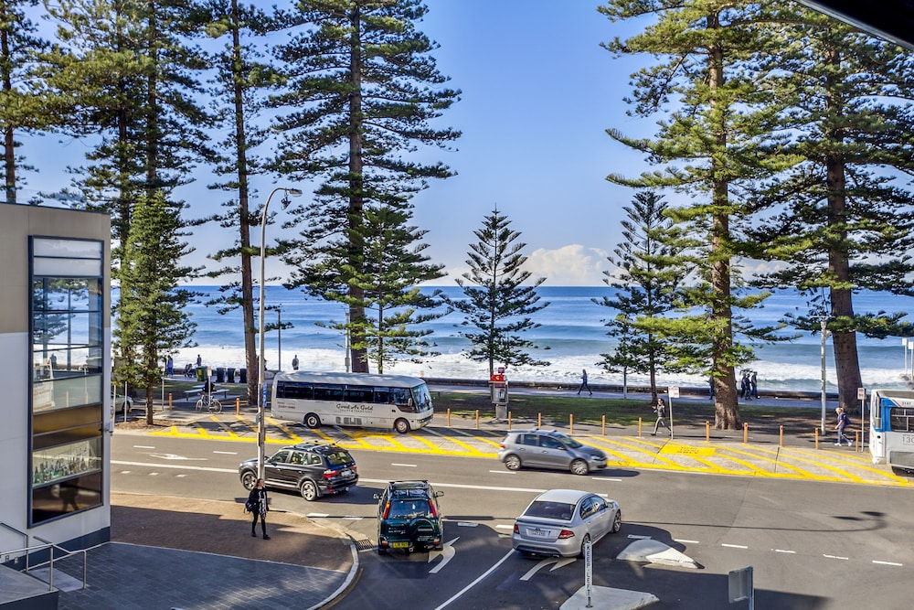 View from Room, Manly Paradise Motel & Apartments